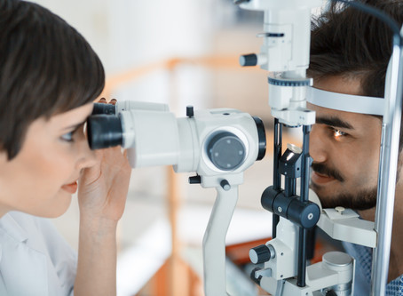 If you are worried about your eyesight, seek advice now. Don't wait until lockdown is over
