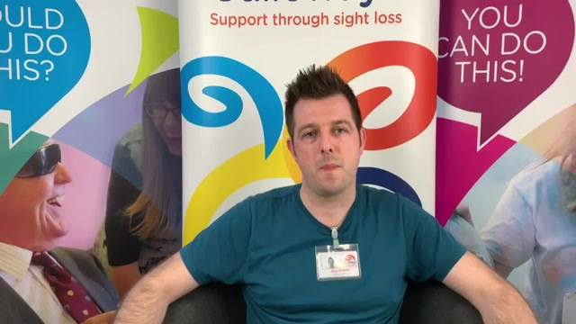 Meet the team: Here is Glen Sheader - one of our expert Sight Loss Advisors and Eye Clinic Liaison Officers. Here he shares why he feels so passionately about his roles at Galloway's ...