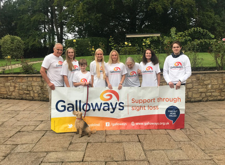 Galloway's chairman Simon Booth and his family take on 1,000km challenge to raise funds