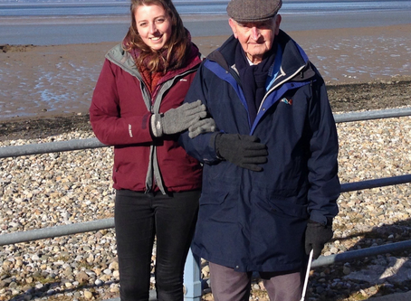 Richard is missing the Galloway's driving day this year but cannot fault the charity's support