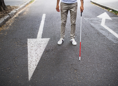 Ten tips from Galloway's for social distancing if you are blind or visually impaired
