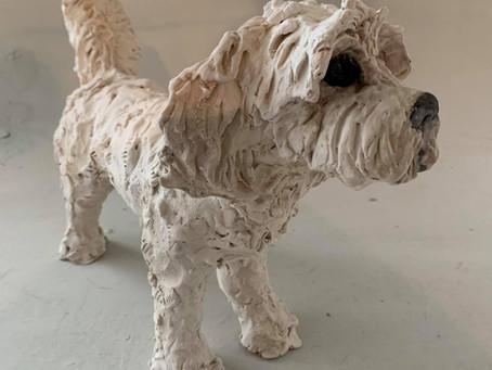 Christine's ceramics auction raises £485 for Galloway's