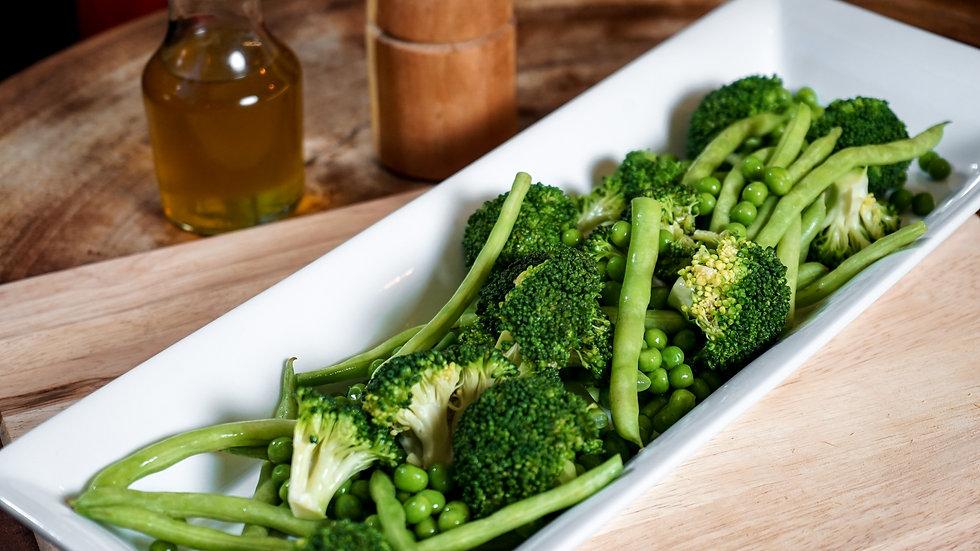 Broccoli, Peas & Beans