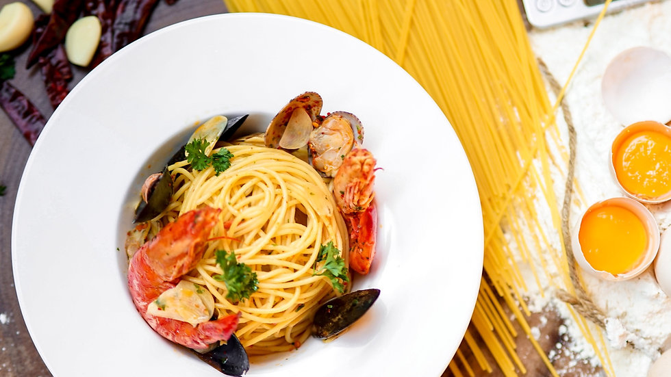 Seafood Aglio e Olio