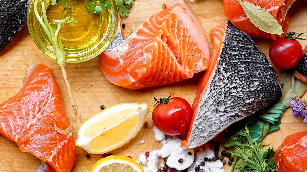 Norwegian Salmon Boneless Steak