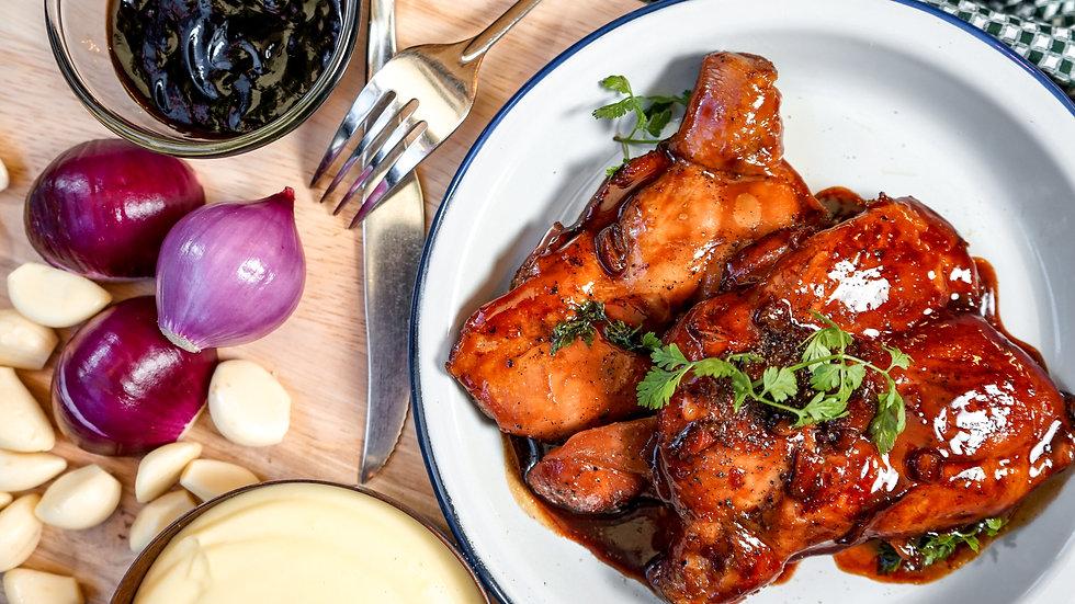 Chicken Thigh & Teriyaki Sauce