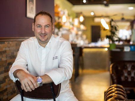 Chef Petr Fehér featured on foodtalk's 54th Issue