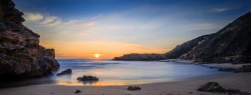 Sunset over Portsea