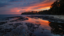 Sunset at Jervis Bay