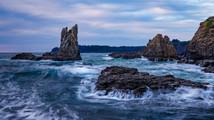 Cathedral Rocks at Dawn