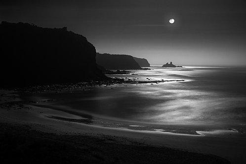 Shack Bay in the Moonlight