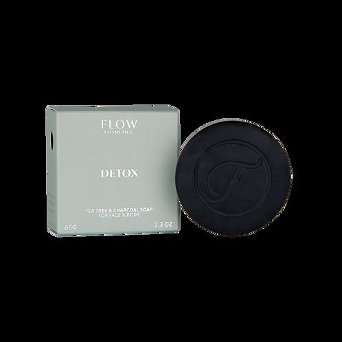 Detox - Tea Tree & Charcoal gezichtsreiniger