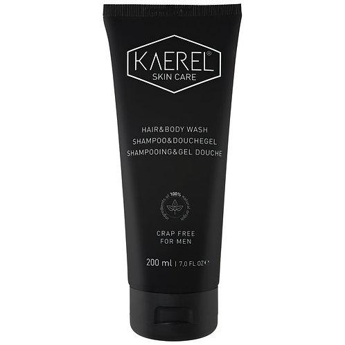 Kaerel Skin Care shampoo & douchegel 200 ml