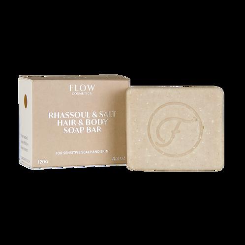 Shampoo bar Rhassoul & Salt - Voor een gevoelige hoofdhuid en droge huid