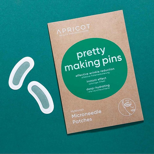 APRICOT Microneedle Patches - pretty making pins