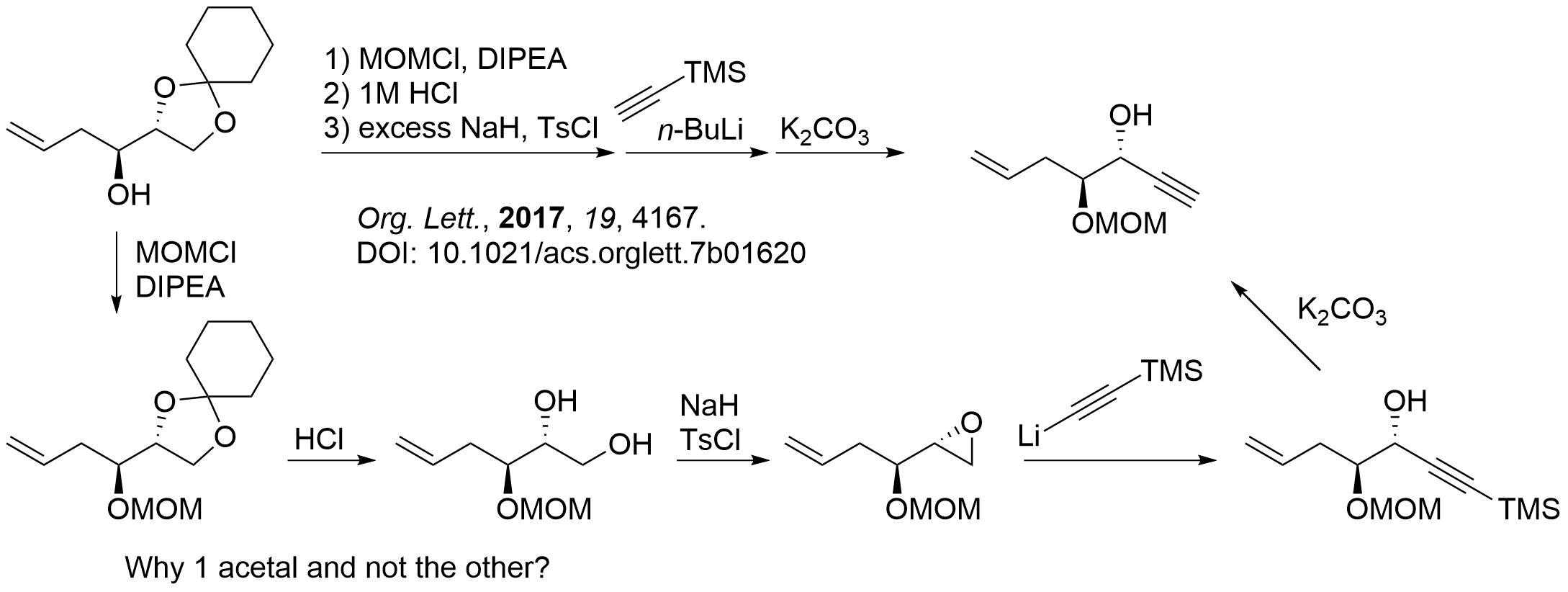 Reaction Sequences 30