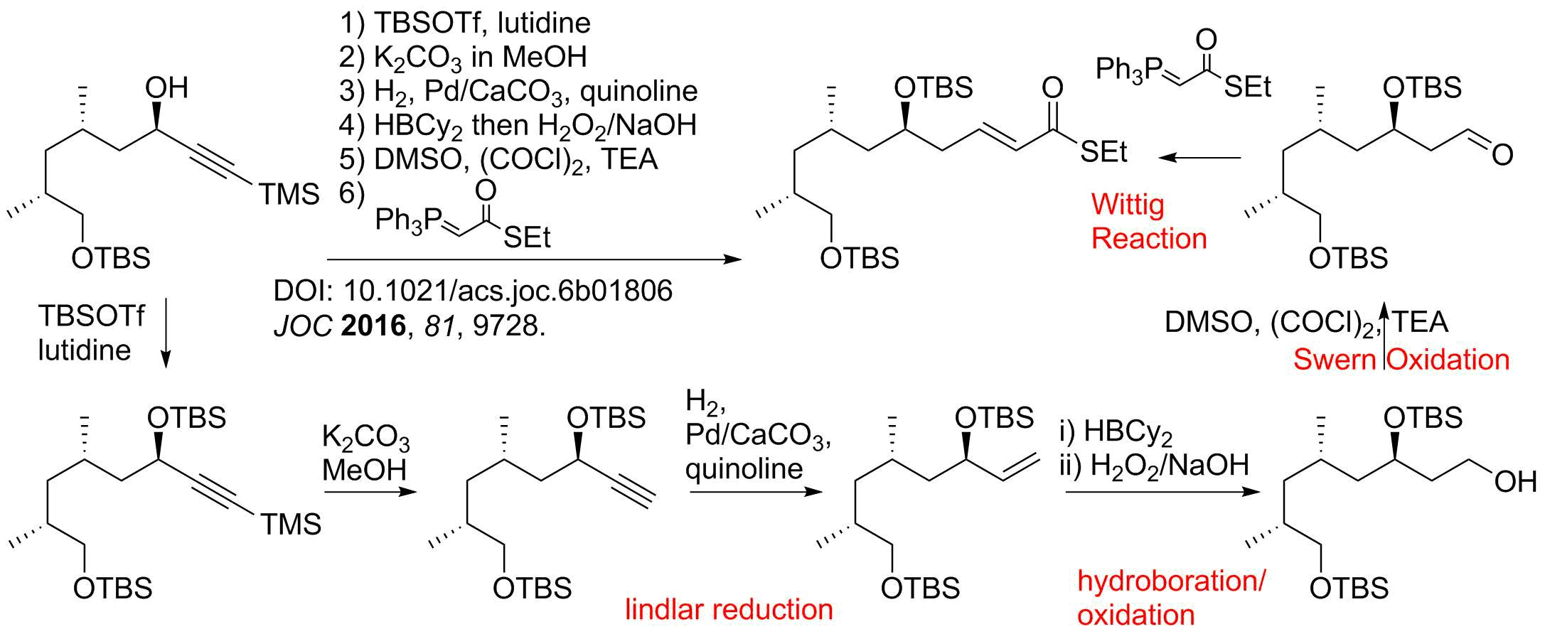 Reaction Sequences 23