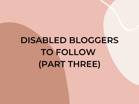 Disabled Bloggers You Should Follow: Invisible Illnesses