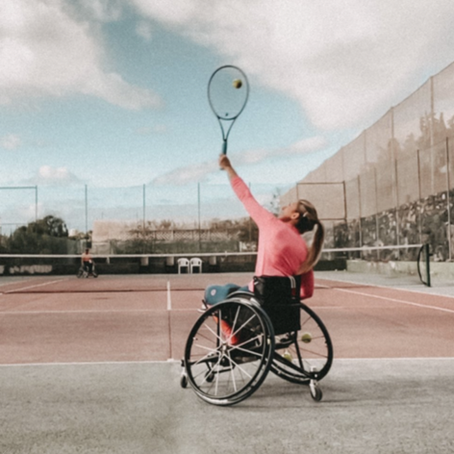 How Wheelchair Tennis Brought Me Back to Life