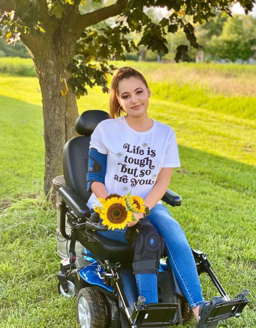 wheelchair-model-sunflower