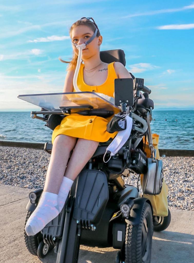 wheelchair-model-disability-beach