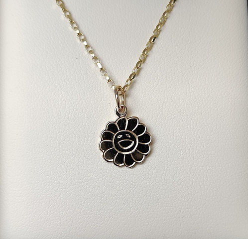 The Smiling Flower Pendant & Chain