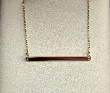 Collarbone Bar Necklace