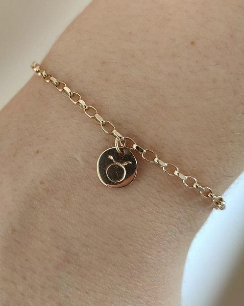Star Sign Charm Bracelet