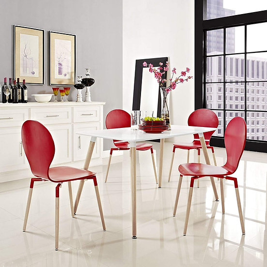 "Inspirer Studio® Eames Style Dining Room Table (47.25"" X 31.5"" Rectangle)"