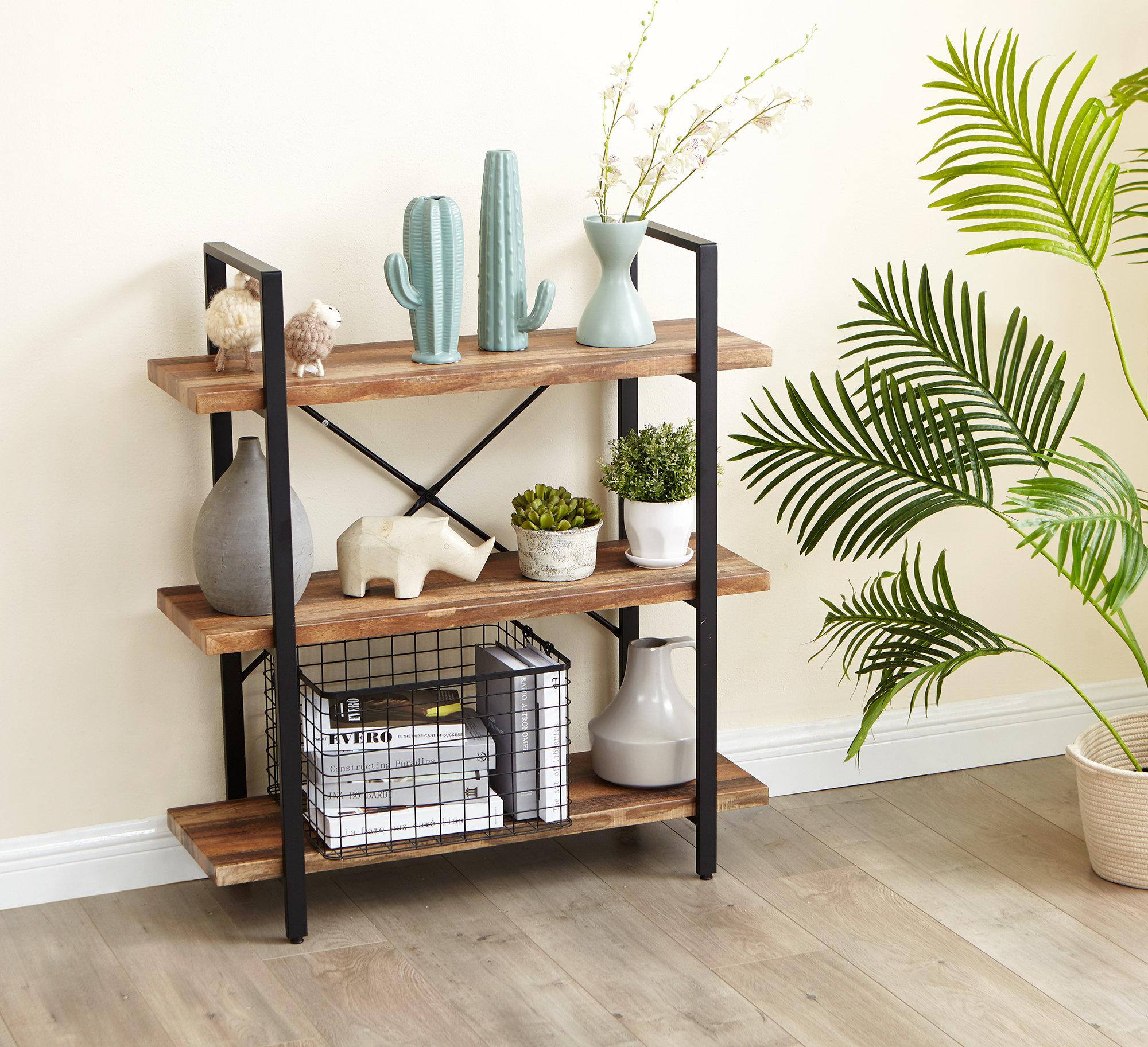 brand new 1f5f3 dc232 Inspirer Studio 3 Tiers Ladder Shelf, Vintage Bookshelf, Storage Rack    Inspirer Studio