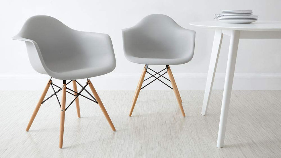 Inspirer Studio® Eames Style Side ArmChair