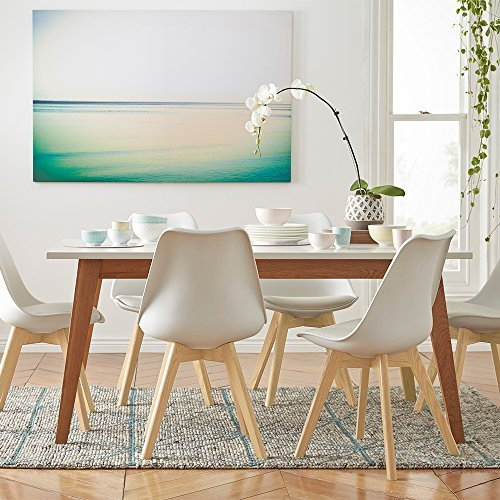 Inspirer Studio® Set of 4 Upholstered Eames Chairs