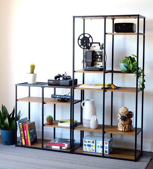 Inspirer Studio Storage Shelf, Vintage Bookshelf, Storage Rack