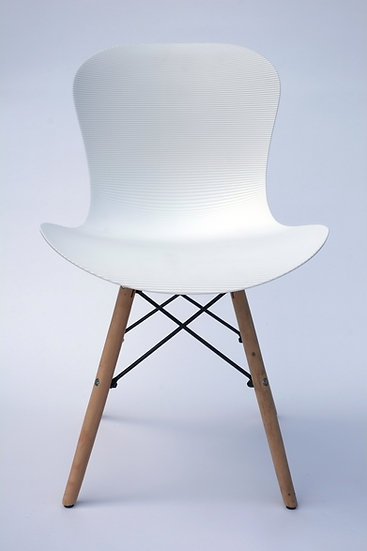 Inspirer Studio® Set of 4 Eames Style Corrugate Side Chair