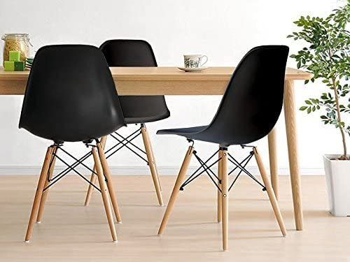 Inspirer Studio® New 17 inch SeatDepth Eames Style Side Chair