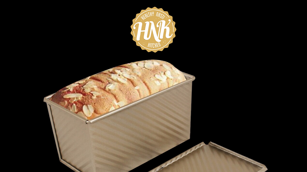 Rectangular Loaf  Non-Stick Bellows With Cover