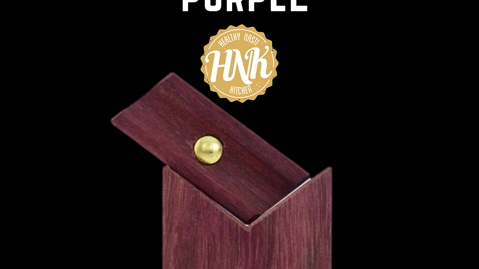 Purple wood original bread lama blade holder
