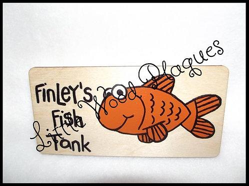 Goldfish Plaque