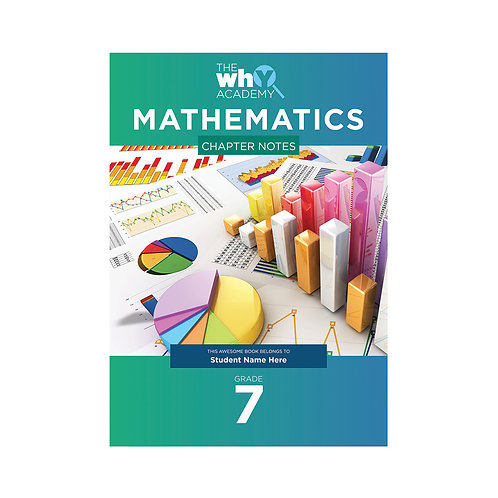 Grade 7 Maths Chapter Notes