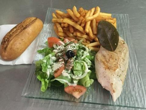 assiette poulet salade copie