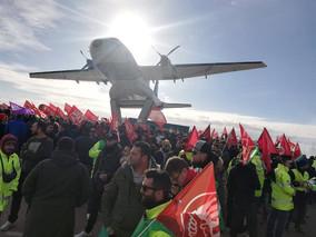 UGT FICA rechaza el ajuste de plantilla que pretende Airbus y reclama el mantenimiento de las empres