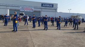 La plantilla de Airbus se moviliza masivamente contra el plan de ajuste