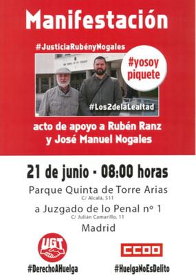 #yosoypiquete acude, apoya y defiende !!