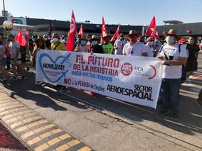 UGT FICA  exige soluciones para el Sector Aeroespacial en España