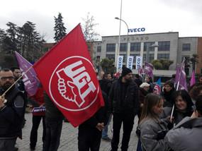 Iveco paraliza temporalmente su producción por la presión ejercida del  Comite de Empresa, para prot