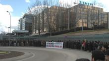 La plantilla de SIEMENS Rail Automation dice basta!!!