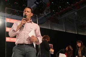 Juan Antonio Lorido interviene en la asamblea confederal de UGT