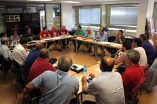 Responsables del sector energético y de la minería de UGT FICA se reúnen en Madrid para coordinar fu