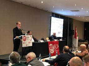 Pedro Hojas llama a UGT FICA a pasar a la ofensiva para recuperar los derechos perdidos