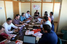 Reunión del equipo de trabajo del sector automovilístico de UGT FICA